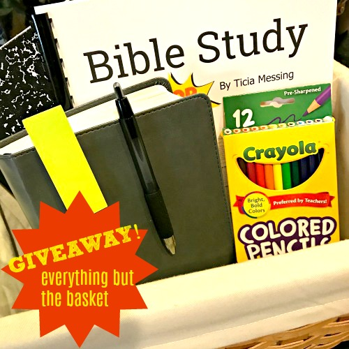 Bible study for kids giveaway