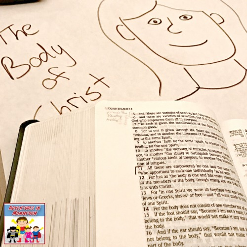 Body of Christ lesson