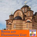 Bosnia and Herzegovina unit geography europe