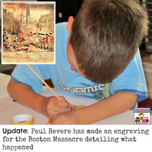 Boston Massacre Paul Revere engraving