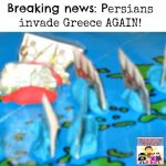 Breaking news Persians invade Greece again