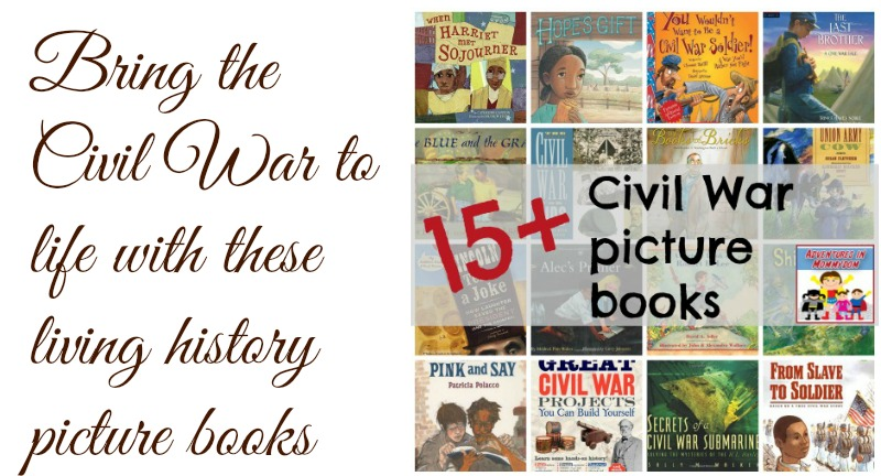 Bring the Civil War to life with living history picture books