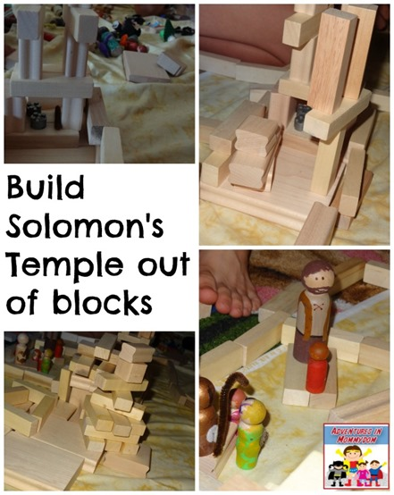 Solomon 39 s temple activities for King solomon crafts for preschoolers