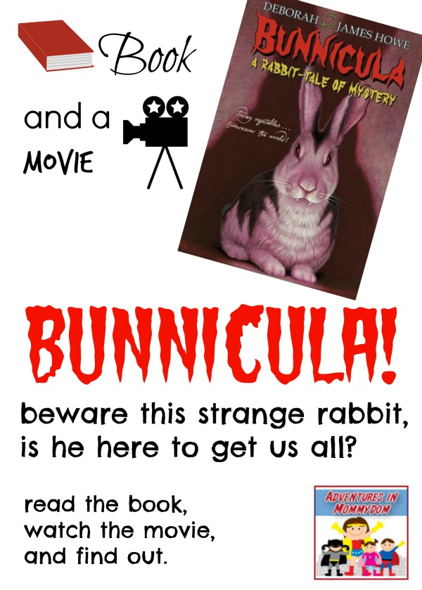 Bunnicula book and a movie