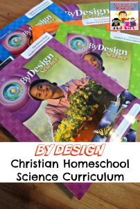 By Design, Christian Homeschool Science Curriculum