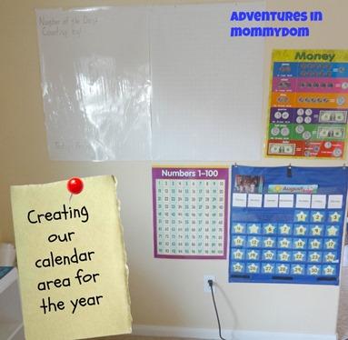Calendar time space