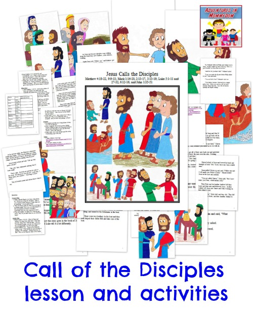 Call of the 12 disciples lesson