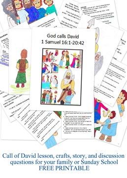 Call of David printable