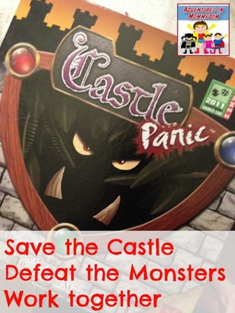 Castle panic a great way to work together and have fun