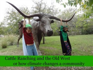 Cattle drives and the Old West