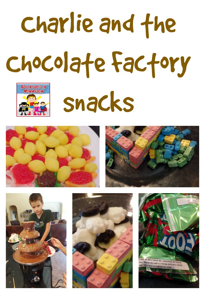 Charlie and the Chocolate factory snacks