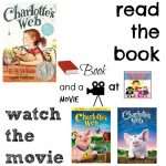 Charlotte's Web book and a movie feature 4th