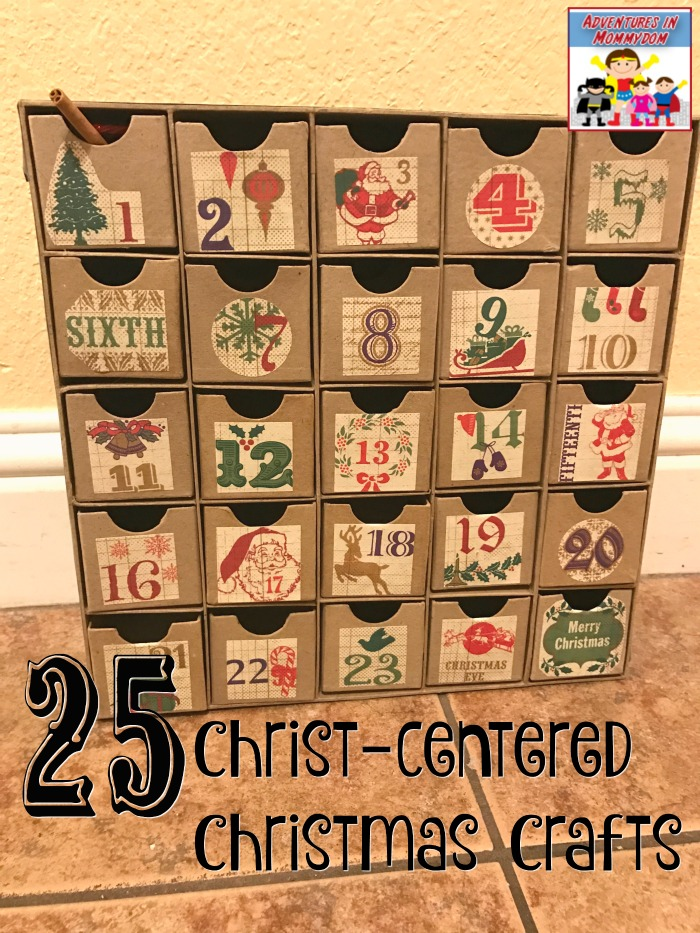 Christ centered Christmas crafts