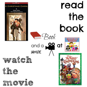 Christmas Carol book and a movie feature 8th 7th