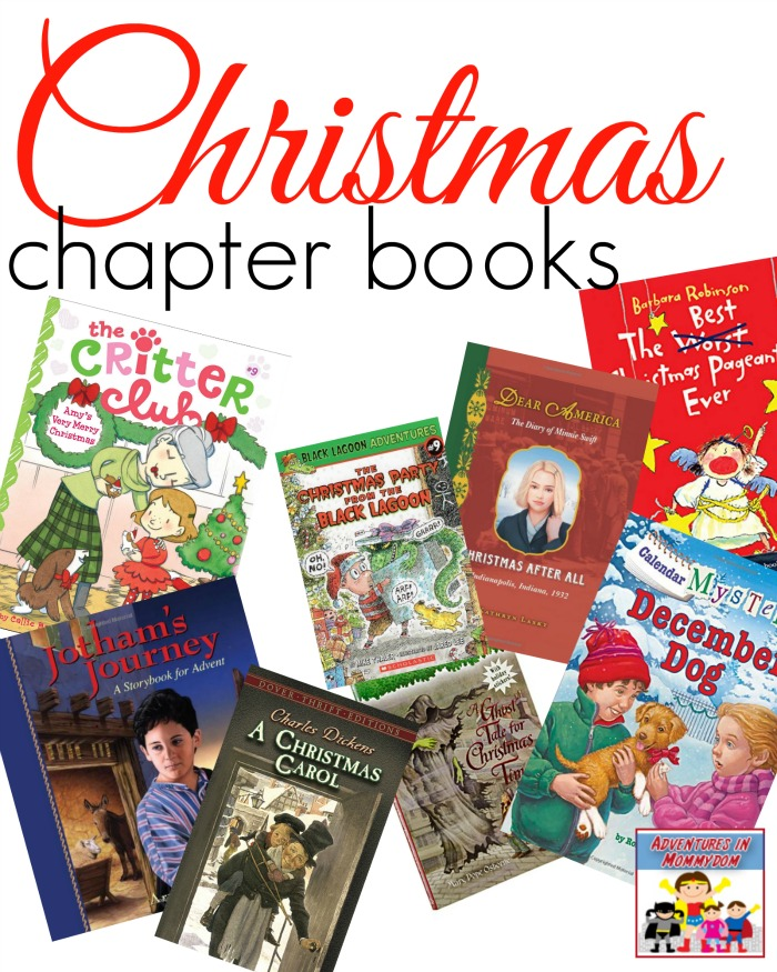 Homeschool Christmas chapter books