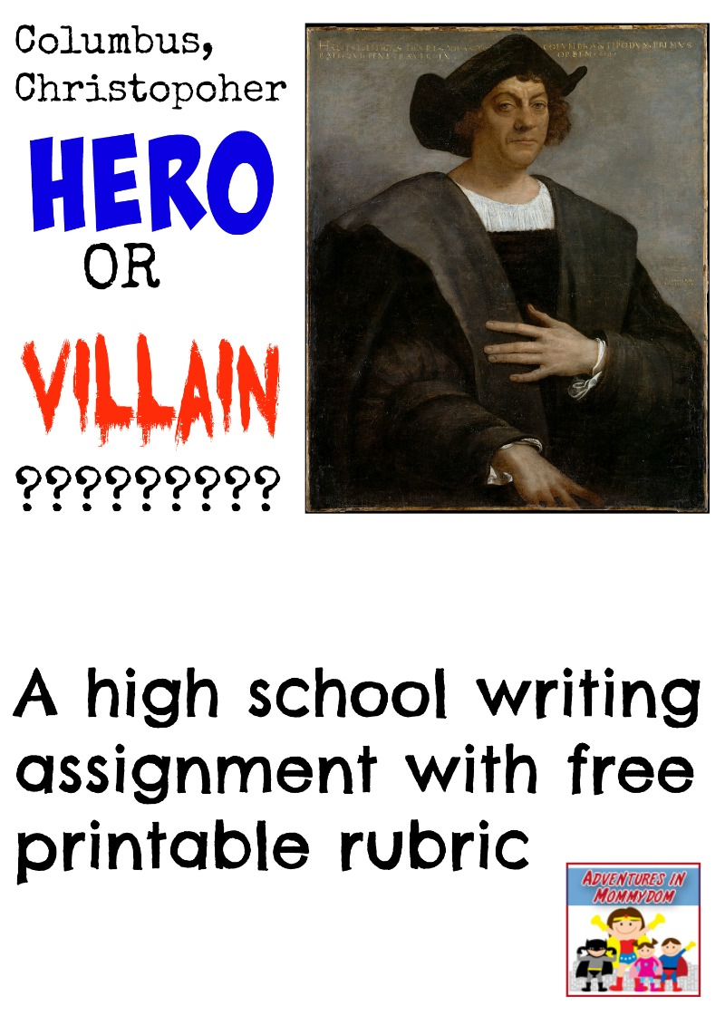essay about christopher columbus as a villain