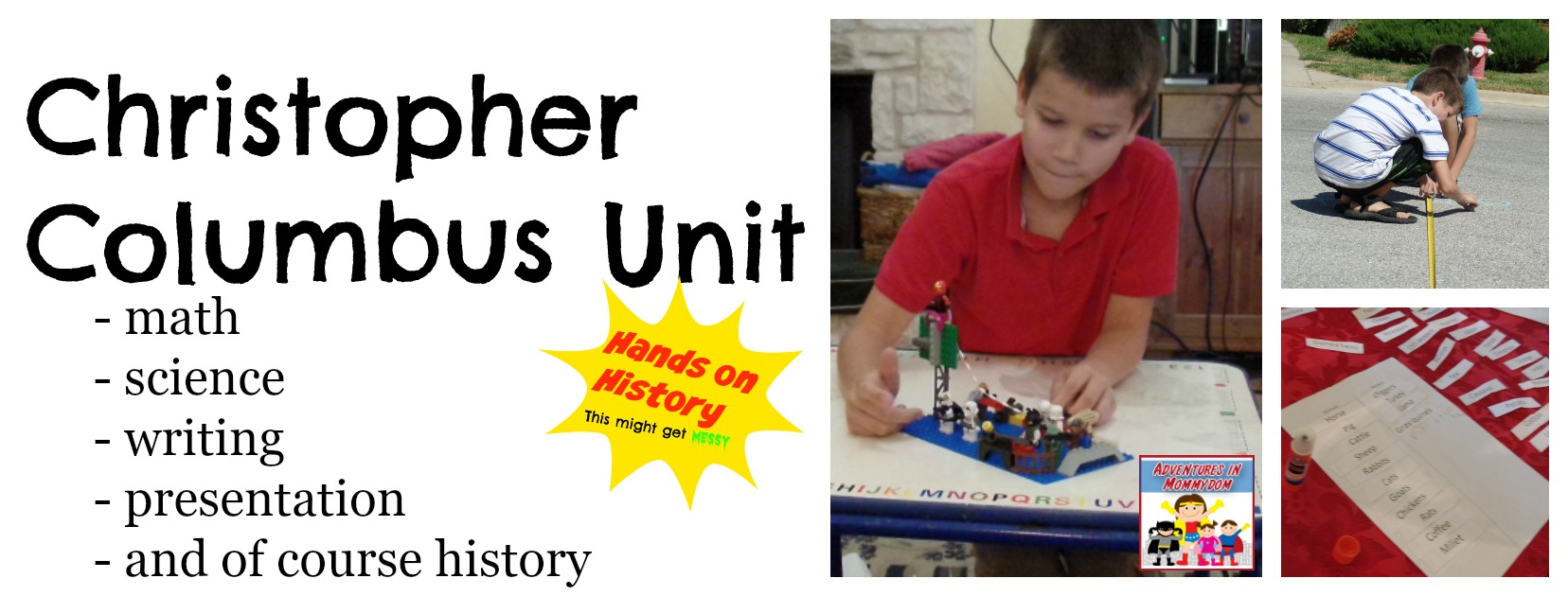 Christopher Columbus unit for elementary