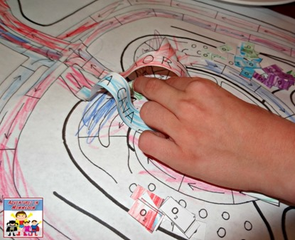 Circulatory system game mechanics