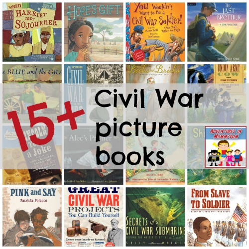 Civil War picture books for elementary and middle school