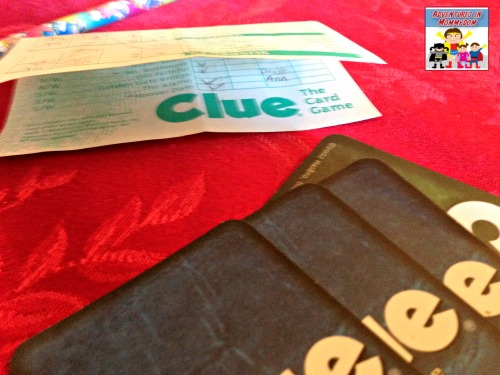 Clue the card game