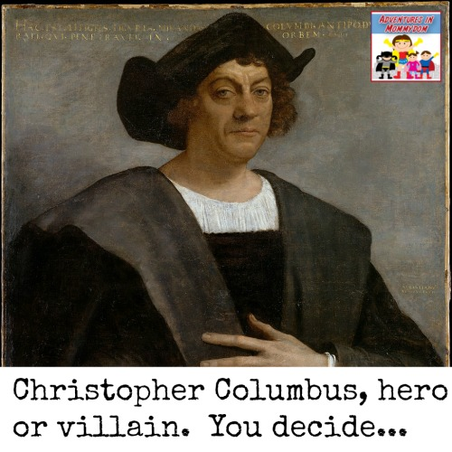 essay on christopher columbus as a villain