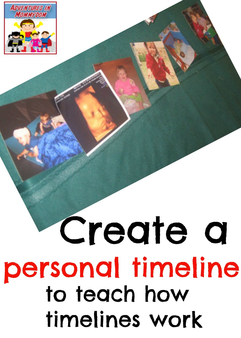 Create a personal timeline for your lesson
