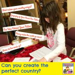 Create your own country lesson