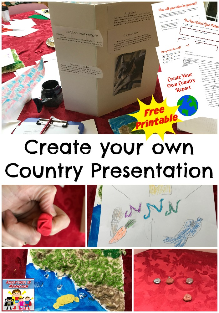 how to create your own nation