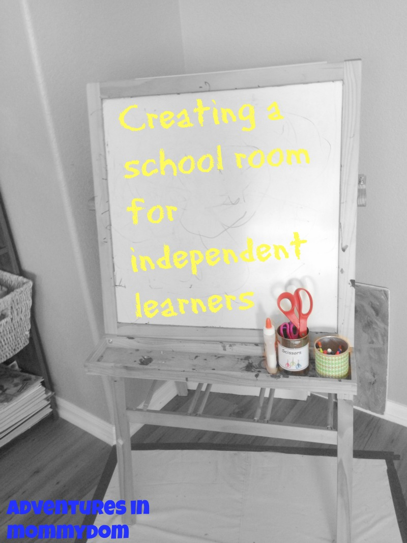 Creating a School room for independent learners