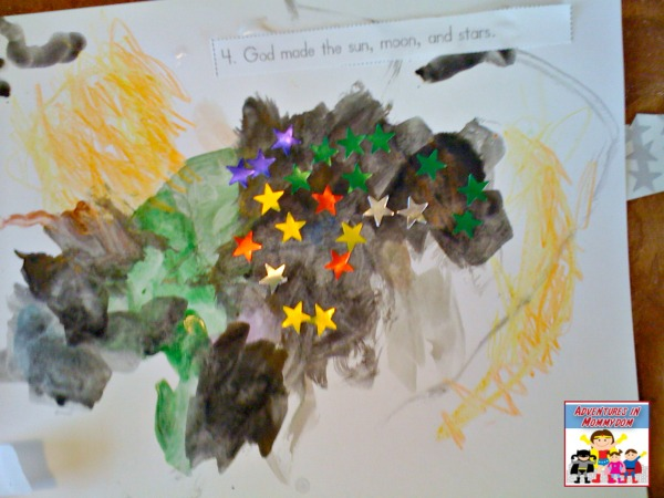 Creation story book day 4