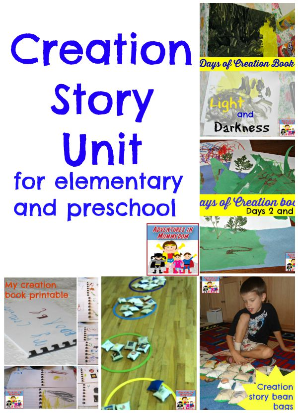 Creation Story For Kids Creation Story Unit