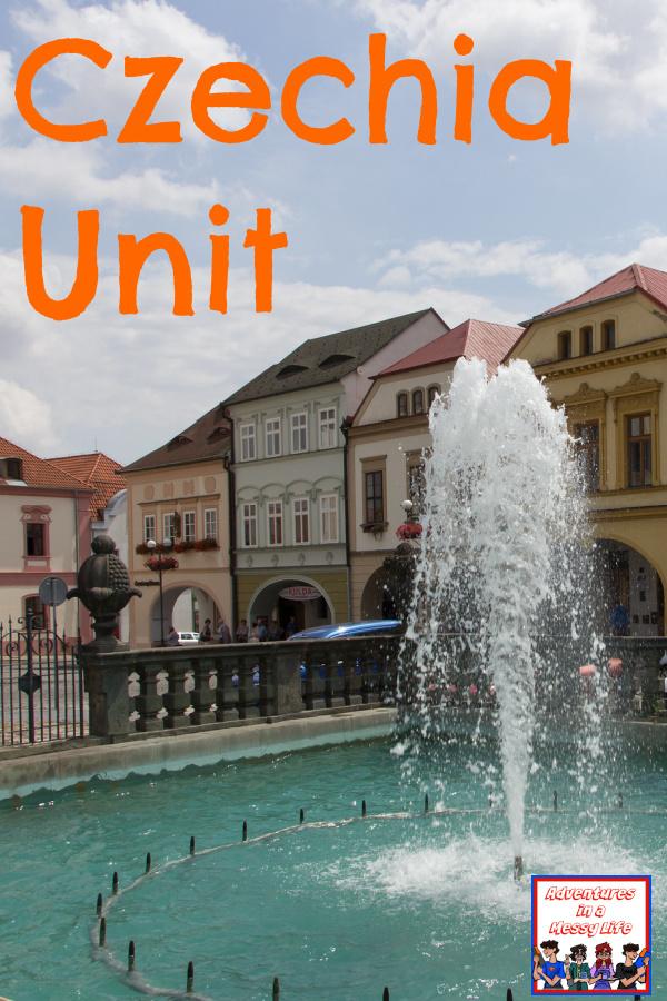 Czechia Unit for homeschoolers