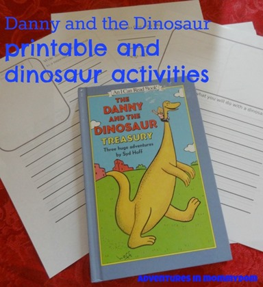 Danny and the Dinosaur printable