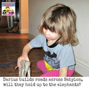Darius 1 preschool lesson