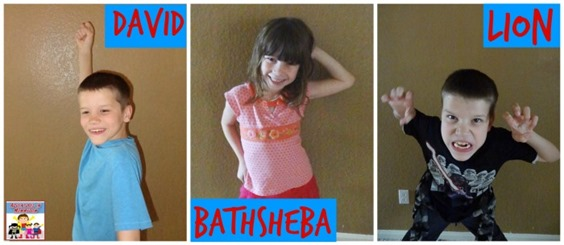 David and Bathsheba game