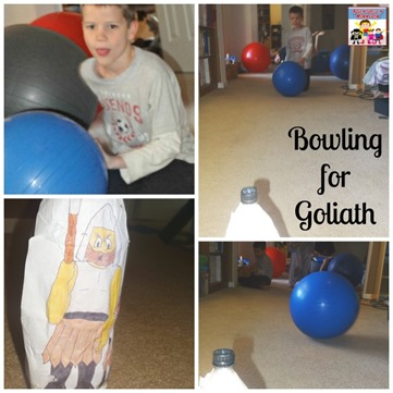 David and Goliath Bowling for Goliath