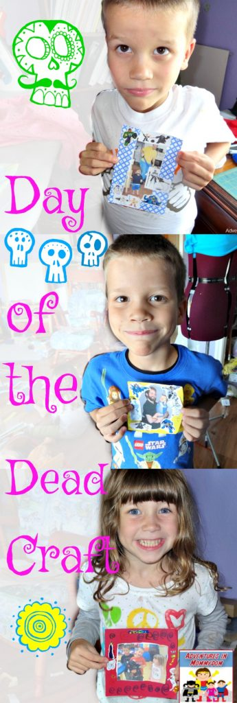 Day of the Dead craft for kids
