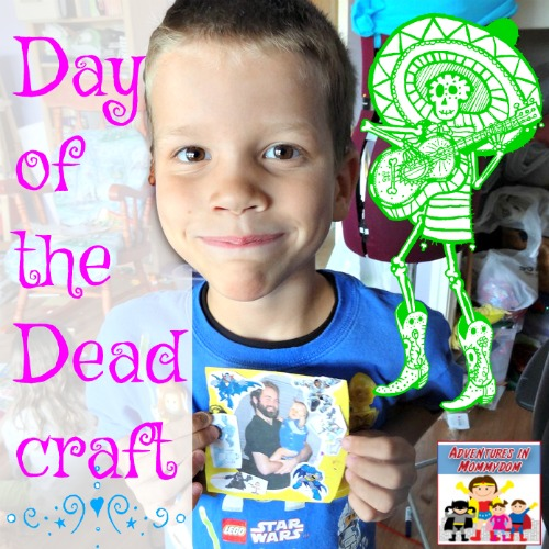Day of the Dead elementary craft