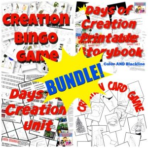 Days of Creation Bundle for Sunday School or Children's Ministry Genesis