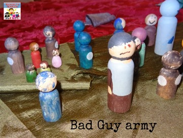 Deborah activity bad guy army