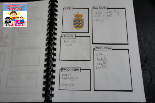 Denmark notebooking pages 2