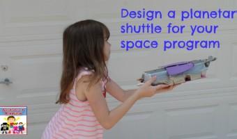 Design a planetary landing shuttle