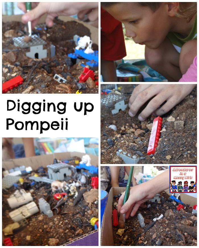 Digging up Pompeii