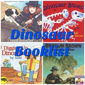 Dinosaur booklist for kids