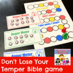 Don't lose your temper Bible game Old Testament Genesis Exodus Samuel