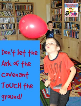 Don't let the Ark of the Covenant touch the ground