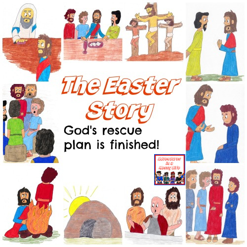 Easter Story lessons for kids