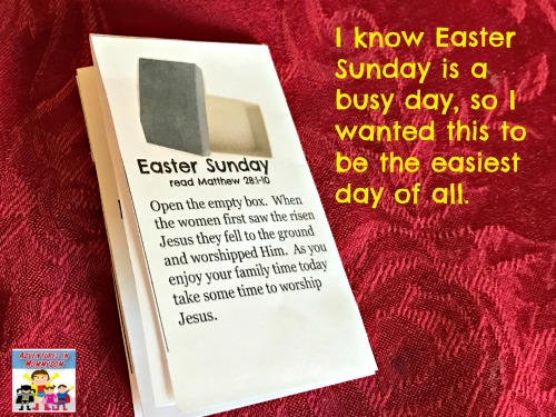 Easter Sunday craft for kids