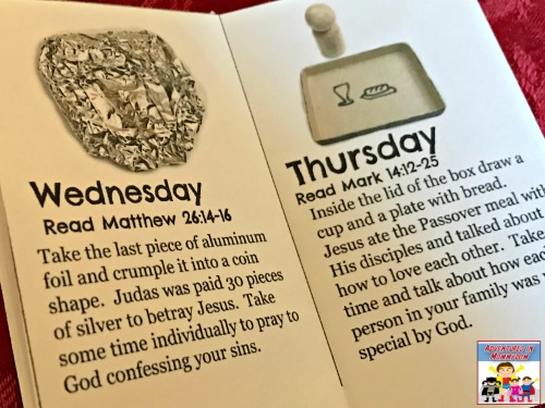 Easter week devotional for young kids
