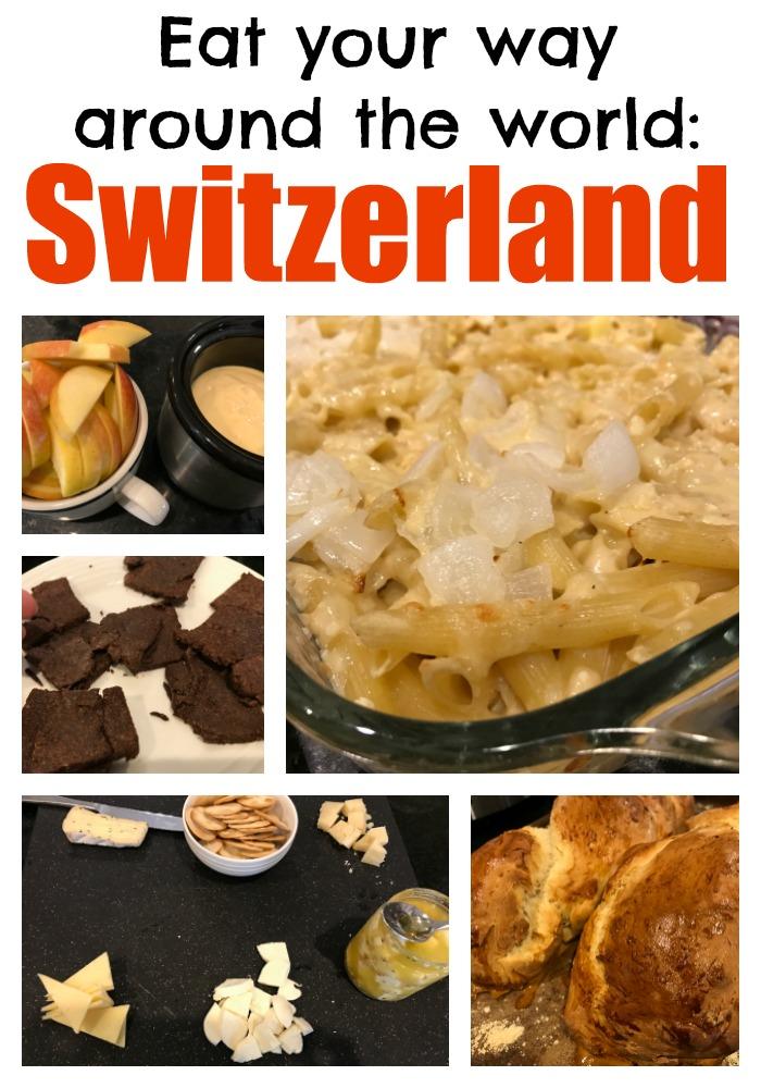 Eat your way around the world Switzerland